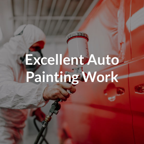 Excellent auto painting work
