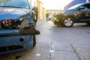 collision between two cars
